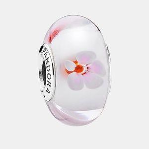 Pandora Cherry Blossom Murano Charm